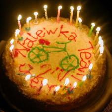 Tort urodzinowy :)