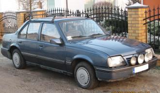 Moja Babcia Ascona 2,0 GT