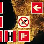 Fotoluminescencyjne oznakowania ochrony przeciwpożarowej
