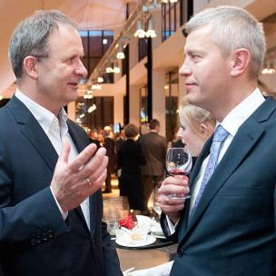 Andrzej Biernacki i Michał Kaczorowski