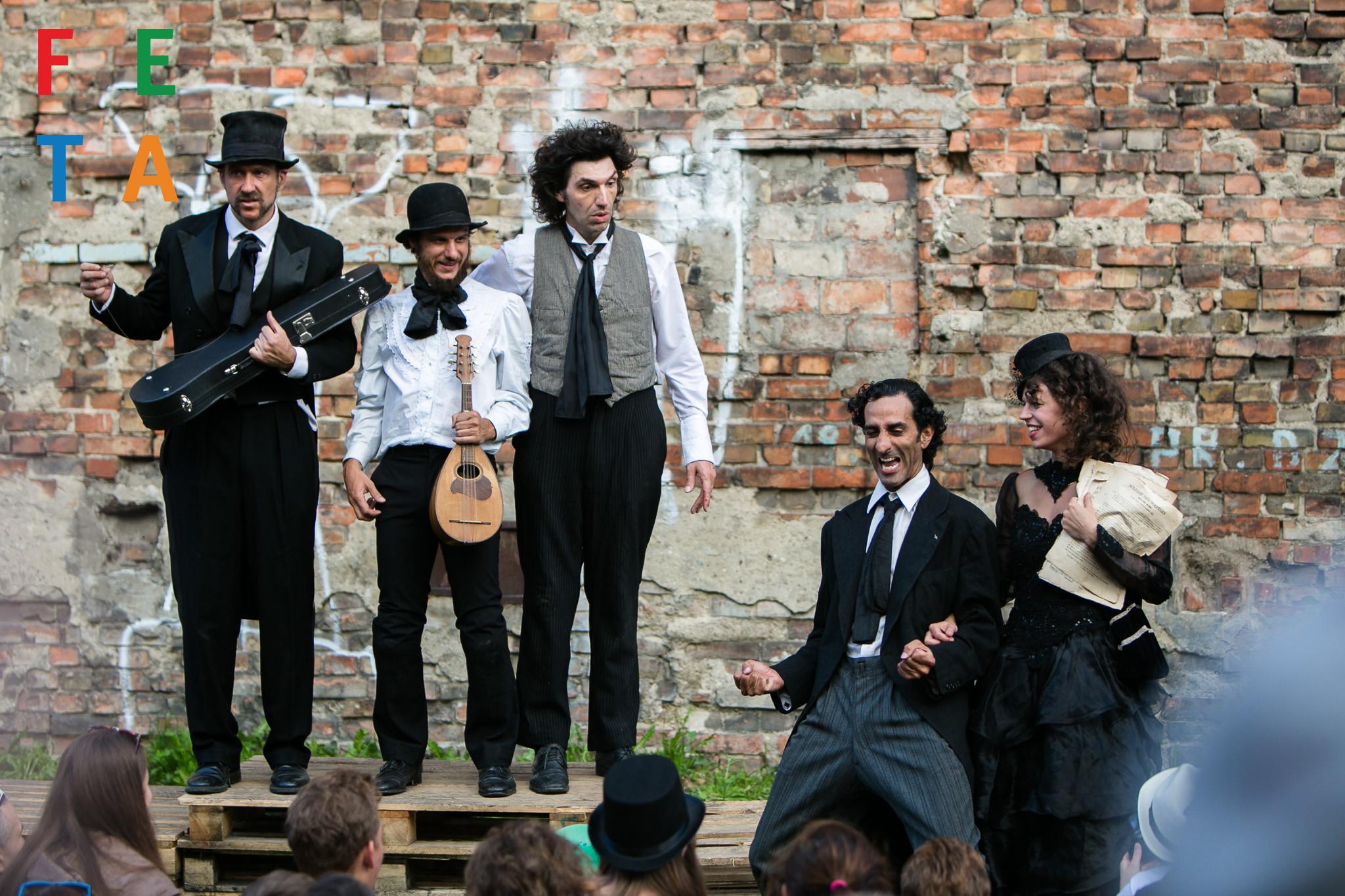 Добро пожаловать на 21 Международный Фестиваль Уличных Театров на ФЕТА в Гданьске [ВИДЕО]