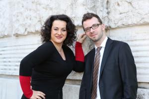 Monika Bohinec i Lech Napierała