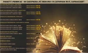 Tylko w Andrzejki i tylko w Naszym Salonie ! 24 listopada udostępniamy całą gamę promocyjnych pakietów i zabiegów ! Zapraszamy !