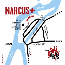 Mapka dojazdu na koncert
