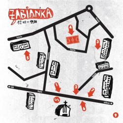 Mapa wydarzeń na Żabiance