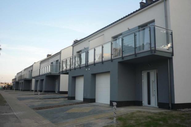 Atutem domów są dwa balkony - od frontu i od ogrodu.