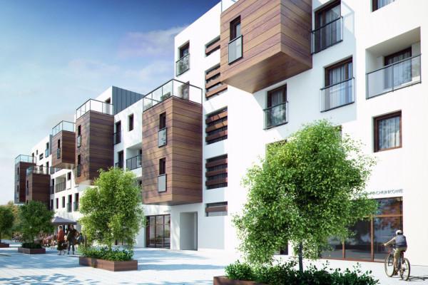 Słonimskiego 6 nawiązuje do Avangard Apartamentów.