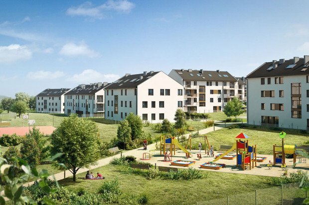 II etap osiedla mieszkaniowego.