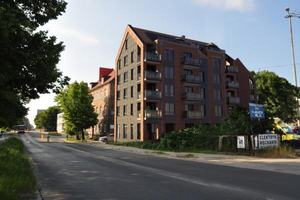 Budynki staną tuż obok wjazdu do osiedla Kamienice nad Motławą.