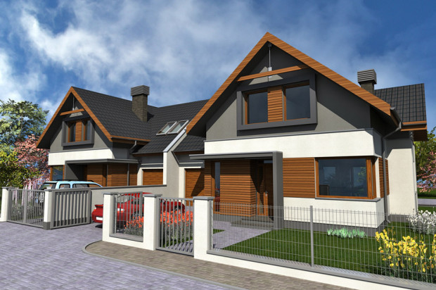 Domy oddawane będą z ogrodzeniem i małą architekturą.