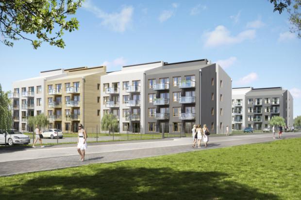 W trzecim etapie powstają dwa budynki o odmiennej od pozostałych architekturze.