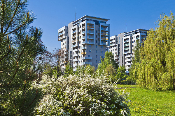Kolejne etapy osiedla są architektoniczną kalką wcześniej powstałych budynków.