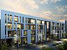 Zefir. Budynek wkomponowany w istniejącą zabudowę będzie wyraźnie wyróżniał się współczesną architekturą.