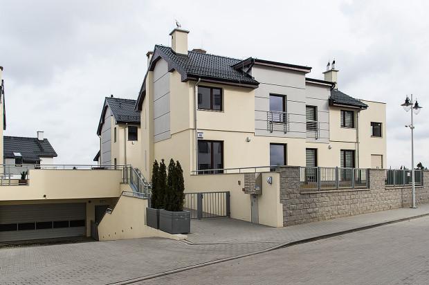 Budynek apartamentowy oddany na Słonecznej Morenie w 2015 roku.