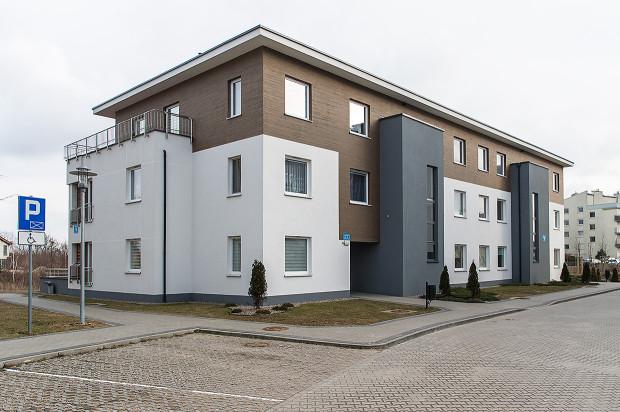 Budynek osiedla oddany do użytkowania w 2015 roku.