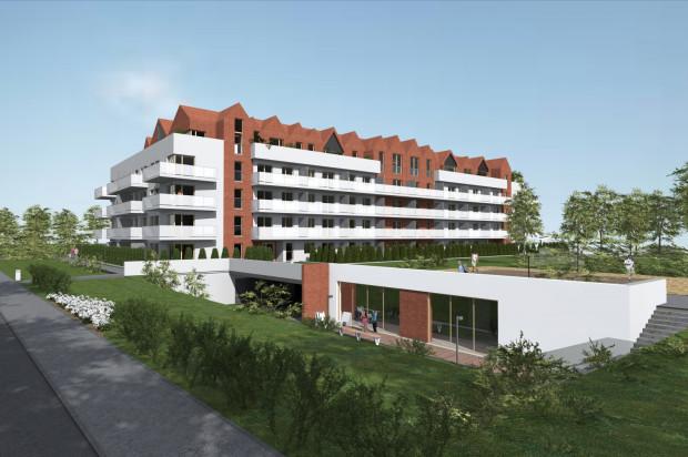 Budynek powiększony będzie o dostępne dla mieszkańców pomieszczenia rekreacyjne.