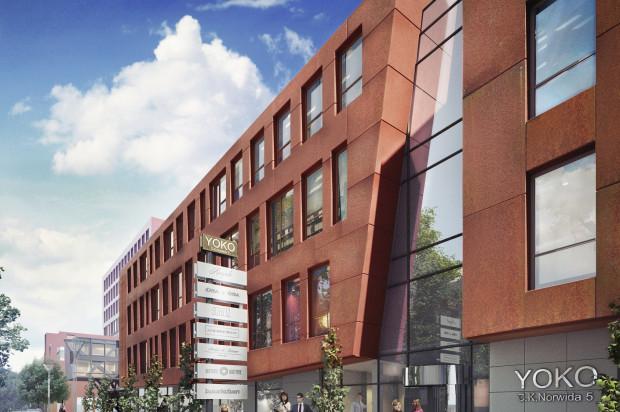 Na parterze budynku zlokalizowane będą lokale usługowe.