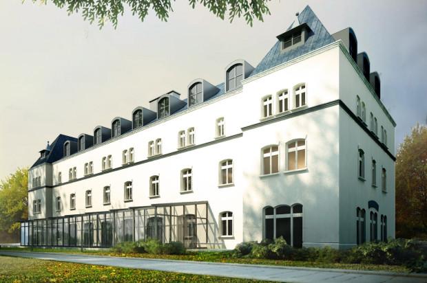 Wstępna wizualizacja budynku Słowackiego 13.