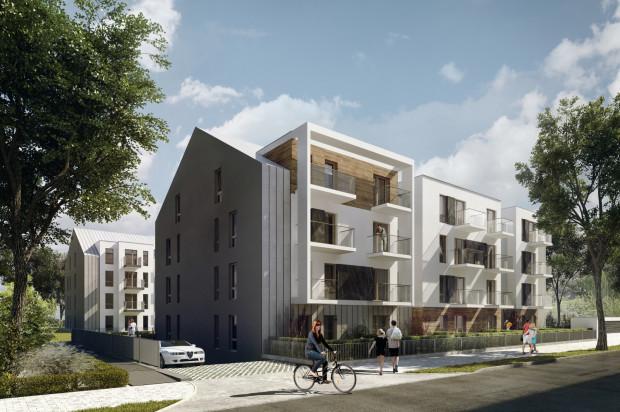 Budynki przy Kochanowskiego 41 będą miały trzy piętra.