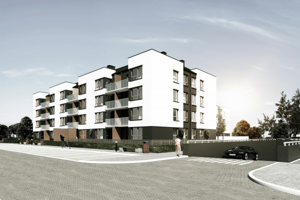 Budynki osiedla będą miały trzy piętra.