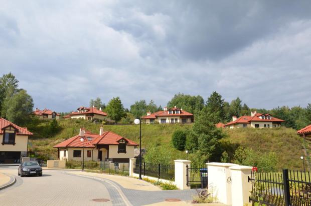 Domy powstałe w ramach II zadania.