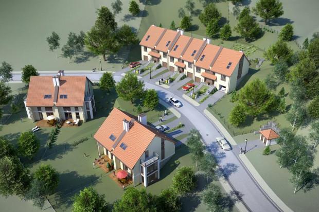 Wizualizacja budynków, które powstaną w ramach III etapu.