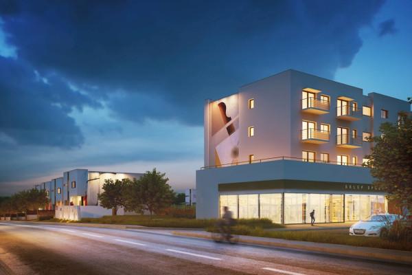 W ramach inwestycji powstanie tylko jeden budynek wielorodzinny.