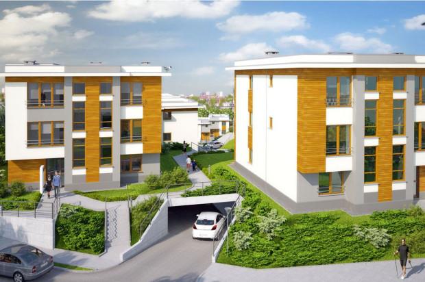 W każdym budynku powstanie zaledwie sześć apartamentów.
