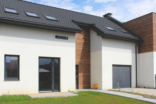 Szeregi domów składają się z trzech budynków.