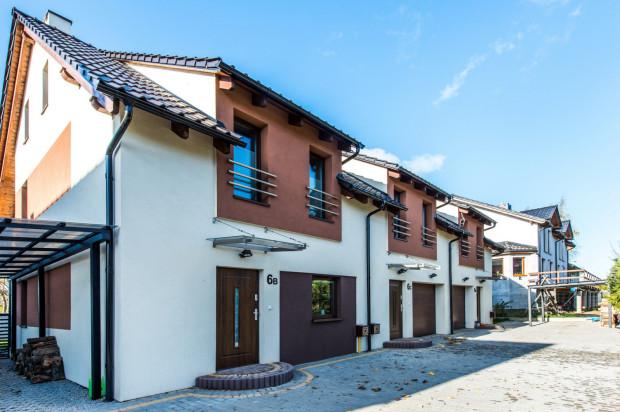 W ramach inwestycji powstały głównie domy szeregowe.