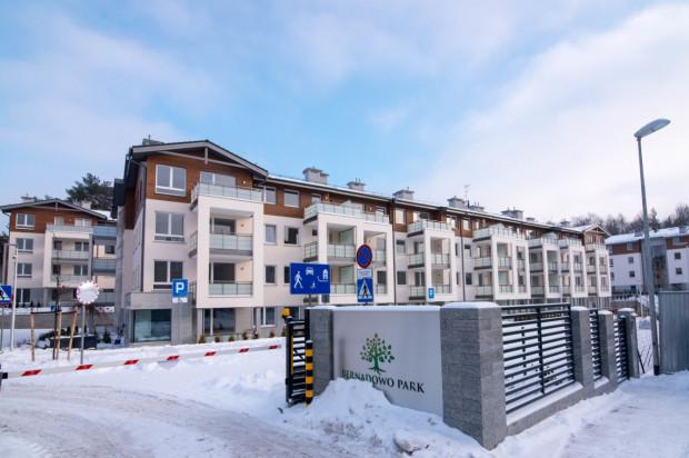 Pierwsze budynki osiedla oddane zostały w 2016 roku.