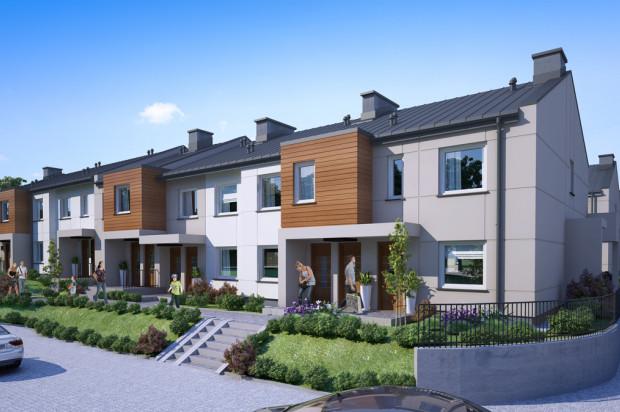 W kameralnych budynkach powstają mieszkania z indywidualnymi wejściami.