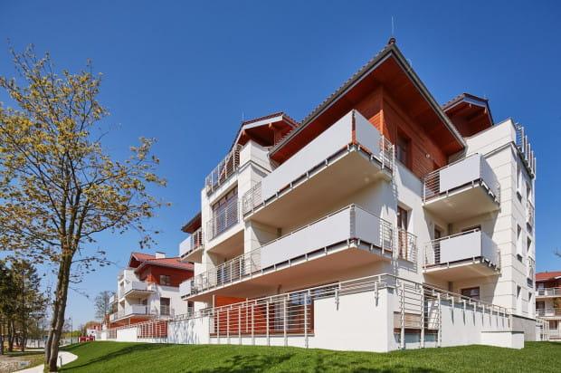 Budynki powstałe w czwartym etapie inwestycji.