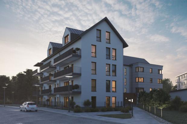 Mieszkania na najwyższej kondygnacji będą miały tarasy.