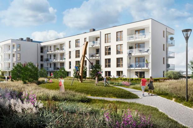 Na osiedlu powstaną 24 czterokondygnacyjne budynki o nowoczesnej architekturze.