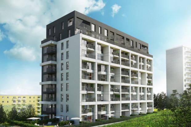 Mieszkania w budynku przy Rozewskiej 9-11 będą miały duże przeszklenia. Również balustrady balkonów będą przeszklone.