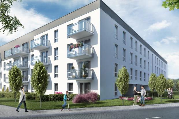 Budynek będzie miał cztery kondygnacje mieszkalne.