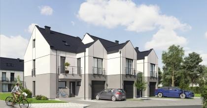 W szeregach domów powstaną zaledwie trzy lub cztery budynki.