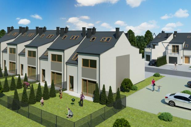 Na osiedlu powstaną domy w zabudowie szeregowej oraz jeden bliźniak.