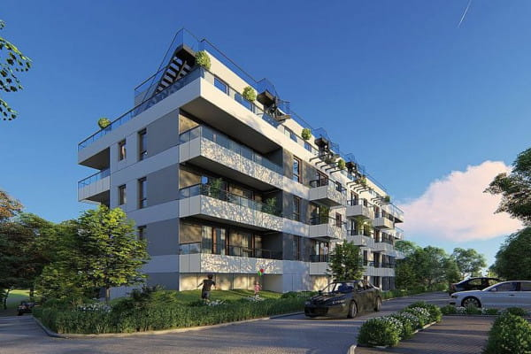 Na dachach budynków powstaną zielone tarasy.