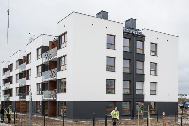 W 2017 roku na osiedlu Na Fali oddany do użytkowania został pierwszy budynek.