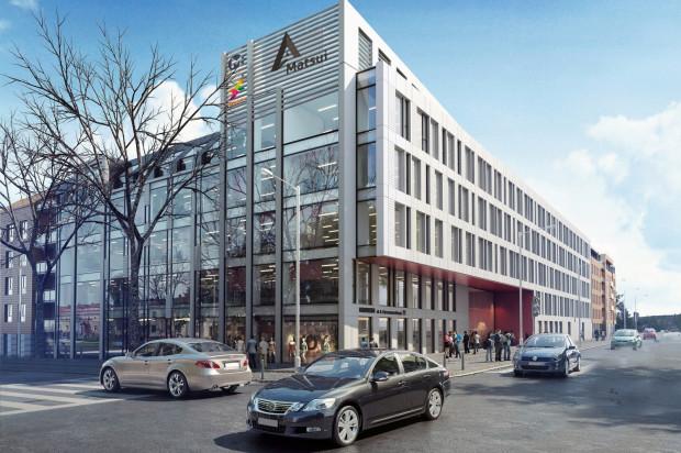 Budynek biurowy u zbiegu Chrzanowskiego i Szymanowskiego będzie miał całkowita powierzchnie 8 tys. m kw.