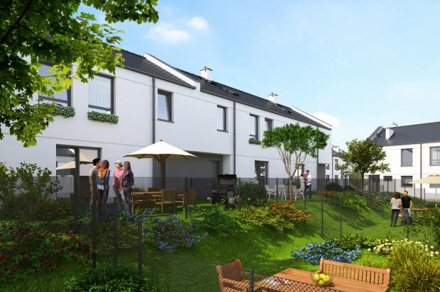 Drugi etap inwestycji, mieszkania dwupoziomowe.