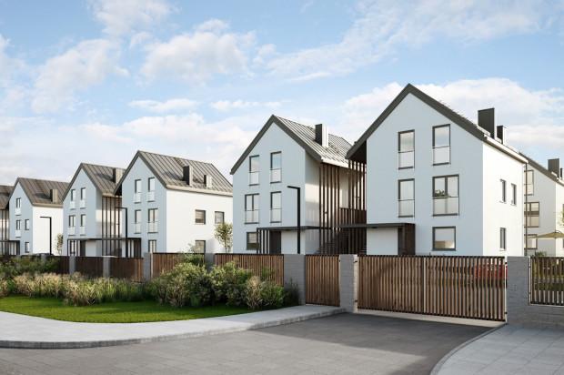 W ramach kameralnej zabudowy powstaną mieszkania, choć z zewnątrz inwestycja wyglądała będzie jak osiedle domów jednorodzinnych.