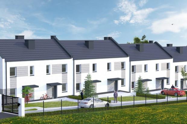 Osiedle domów szeregowych będzie ogrodzone.