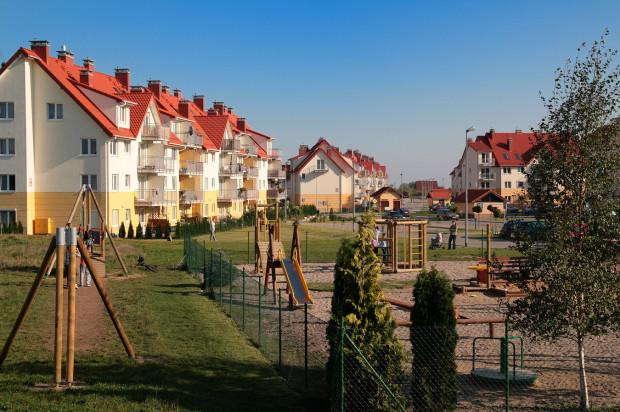 Część osiedla oddana do użytkowania przy ulicy Olimpijskiej w 2008 roku.