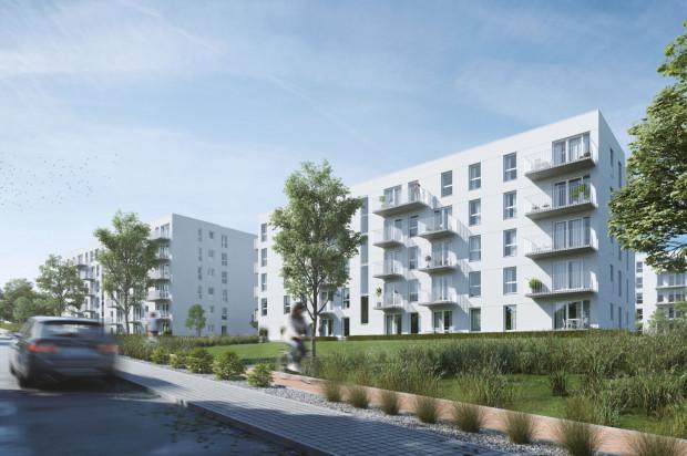 Budynki osiedla otoczone mają być staranie zagospodarowaną zielenią.