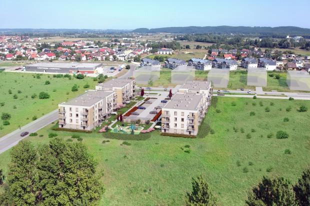 W pierwszym etapie inwestycji powstaną cztery budynki.