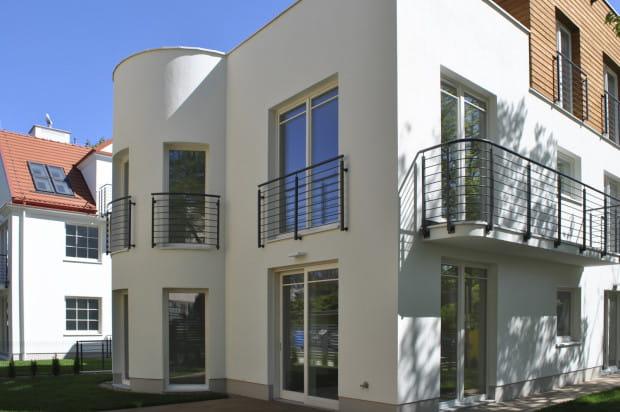 W kameralnej inwestycji powstało zaledwie sześć apartamentów.
