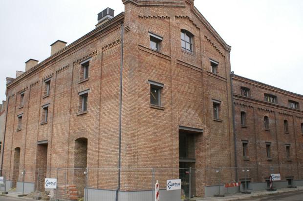 Stuletni budynek przy ulicy Rycerskiej.